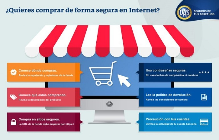 Compra segura a través de Internet para este Black Friday