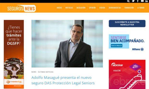Adolfo Masagué presenta el nuevo seguro DAS Protección Legal Seniors