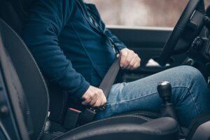 Multas del cinturón de seguridad
